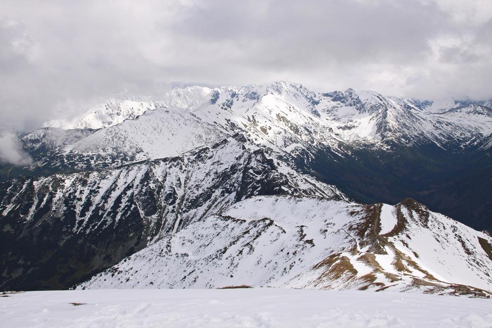 Blick in die Hohe Tatra