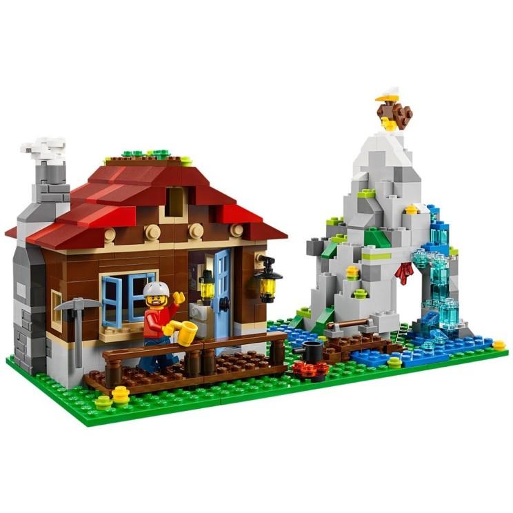 Die Lego-Berghütte