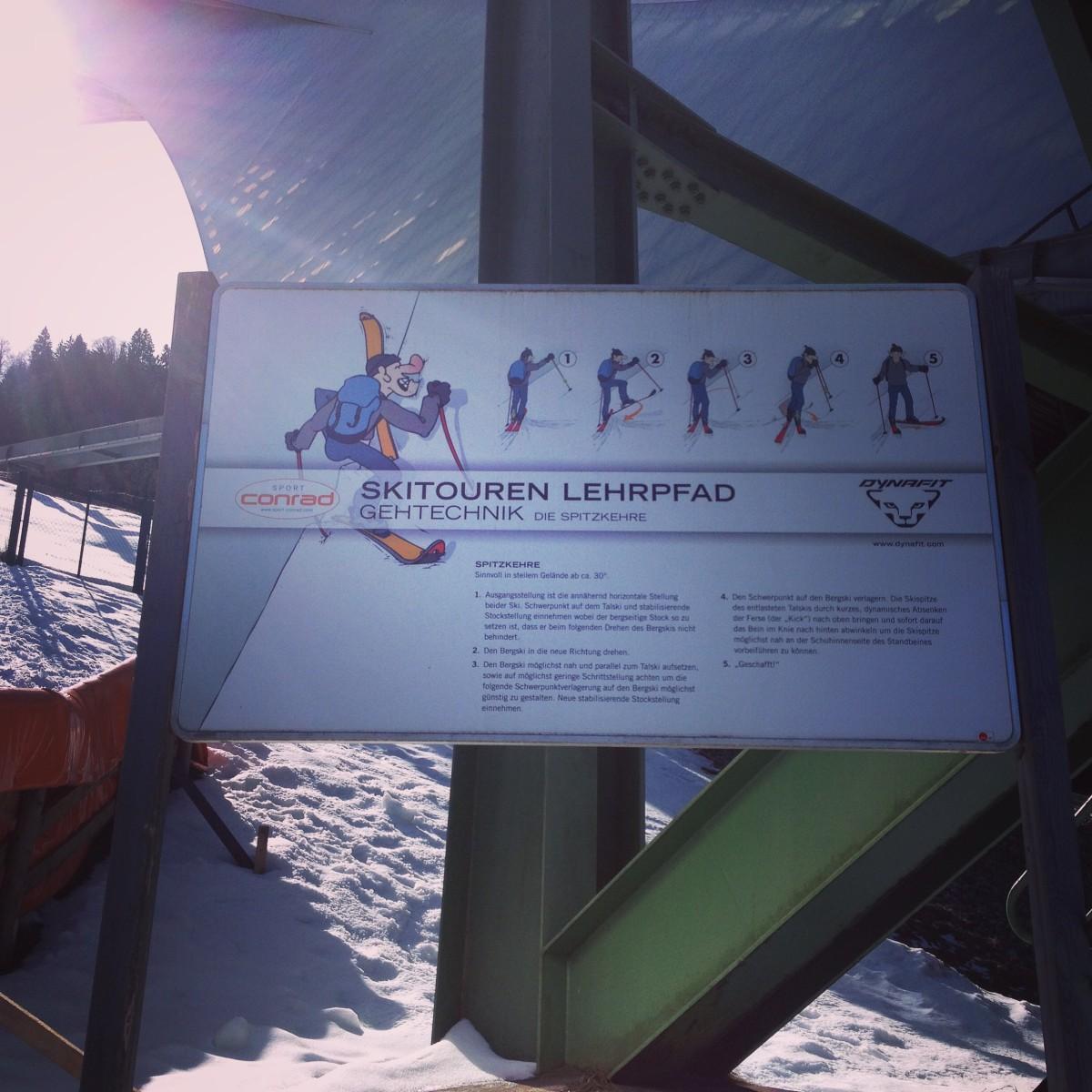 Skitouren-Lehrpfad am Eckbauer, Garmisch-Partenkirchen