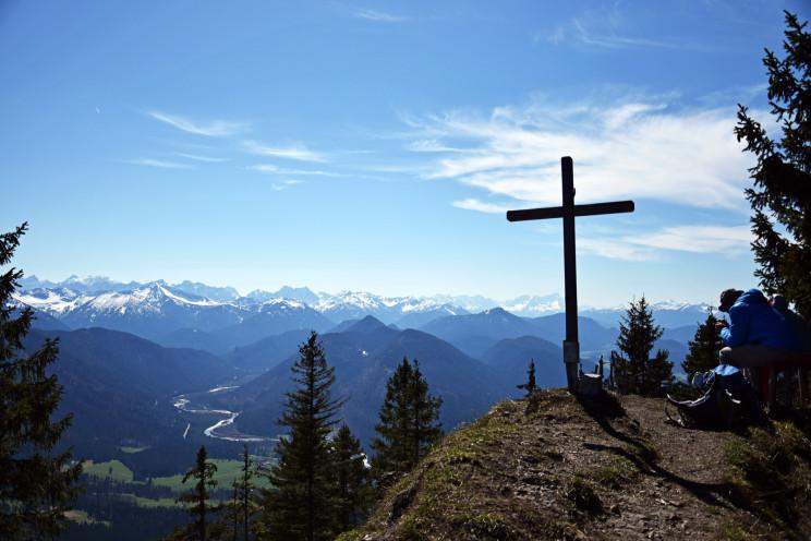 Ausblick vom Grasleitenstein