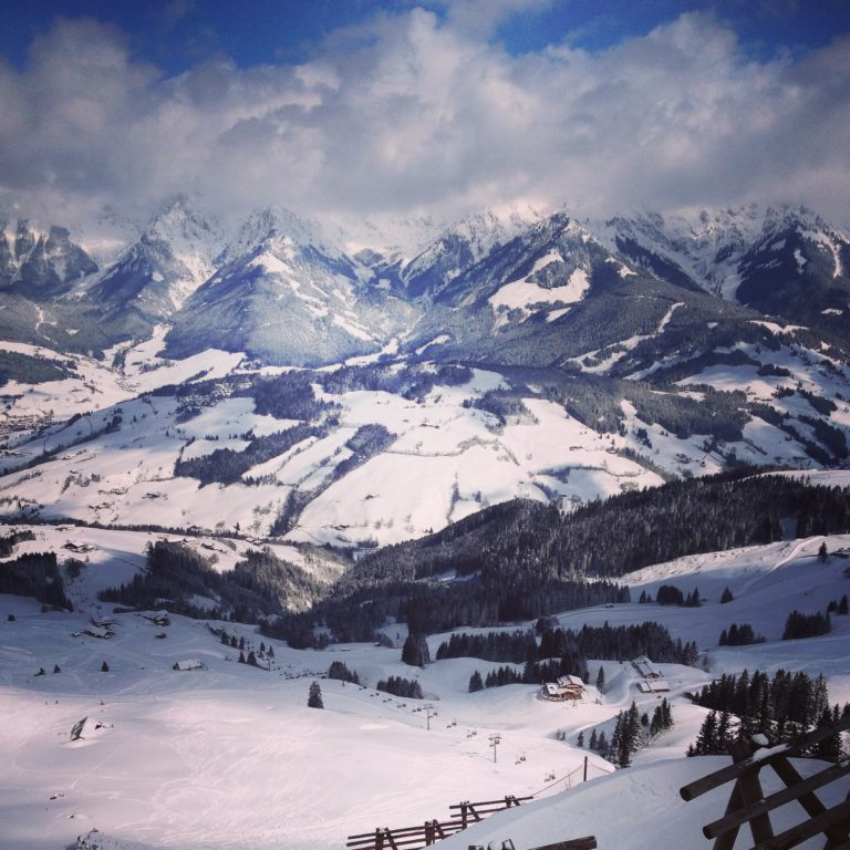 Skifahren an Ostern - wenig Leute, super Schnee