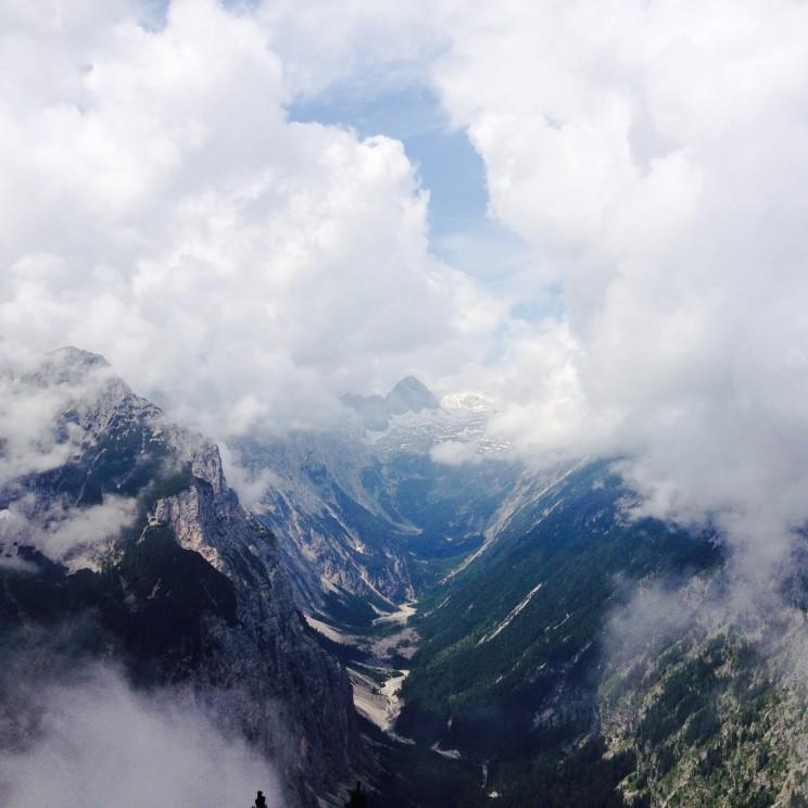 Blick in Richtung Zugspitz-Platt