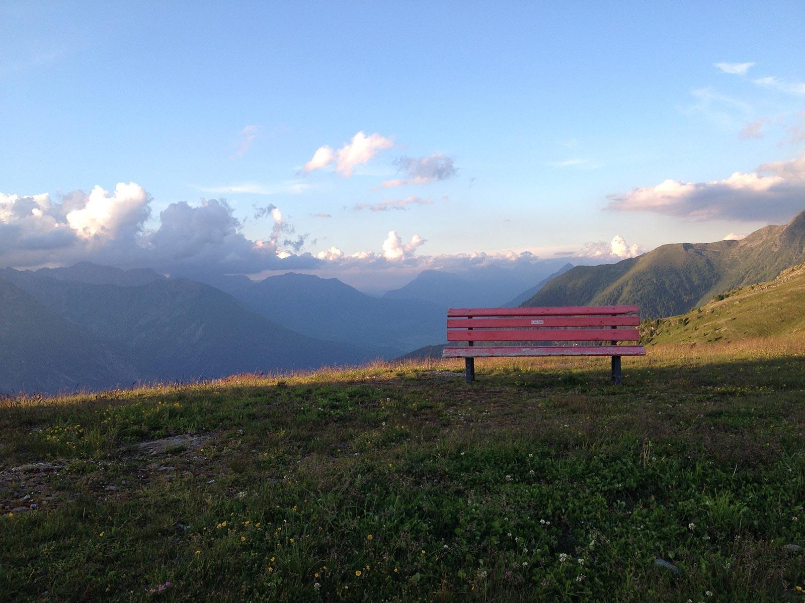 Talblick am Venetberg