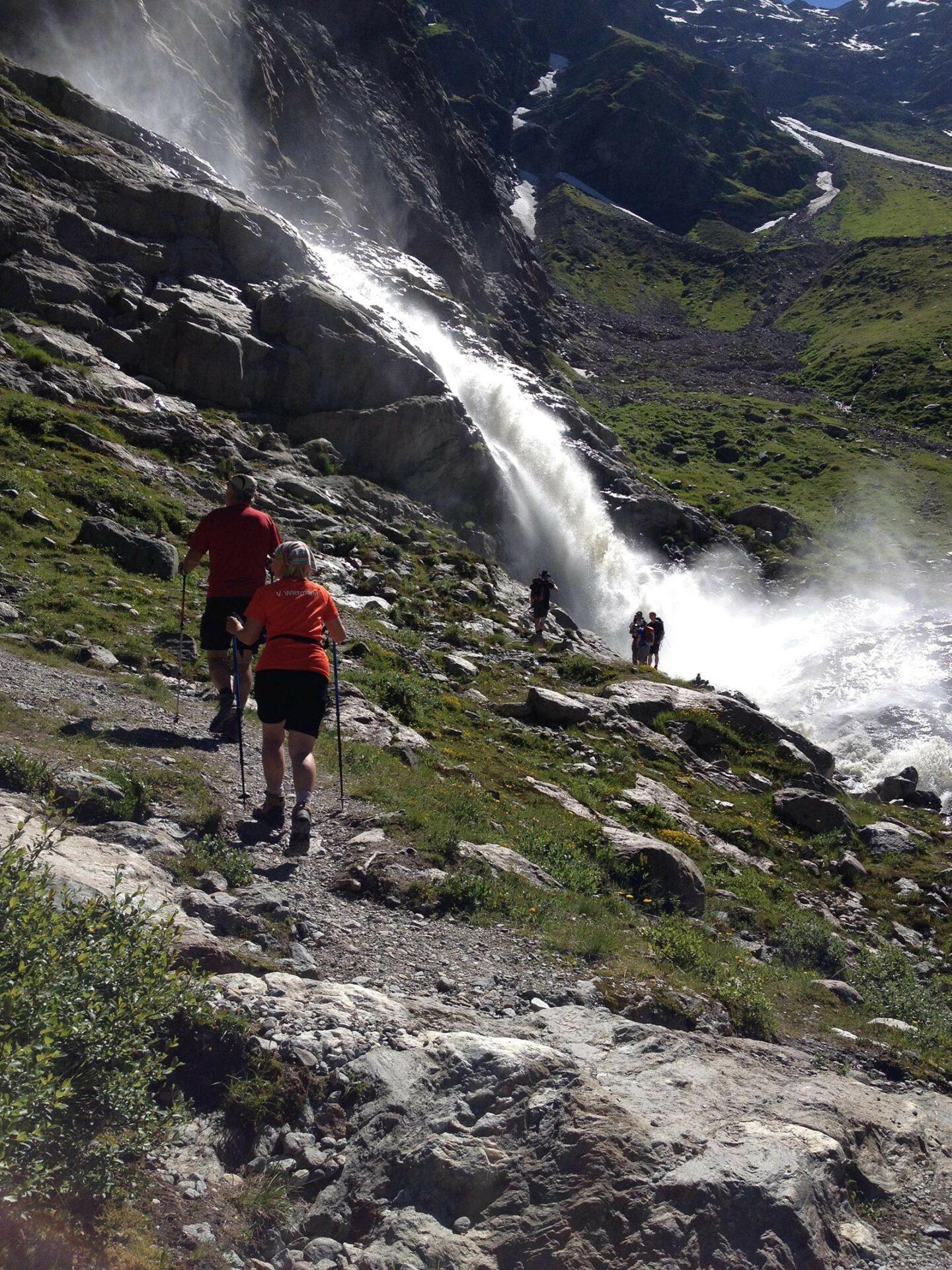 Wasserfallweg zur Braunschweiger Hütte