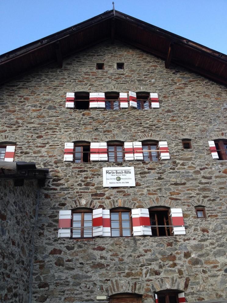 Die Martin-Buch-Hütte