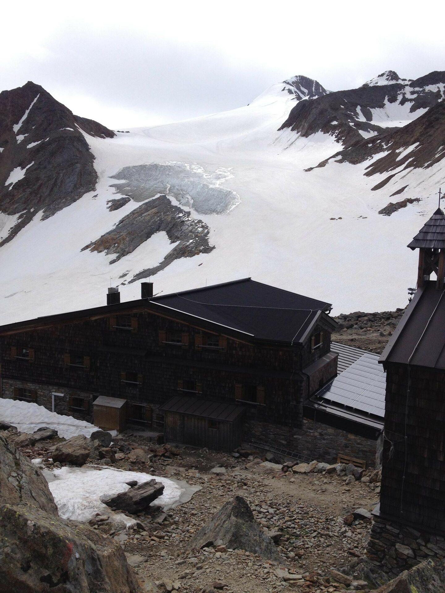 Similaunhütte und Similaun