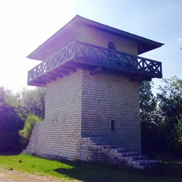 Der Limes-Turm bei Erkertshofen