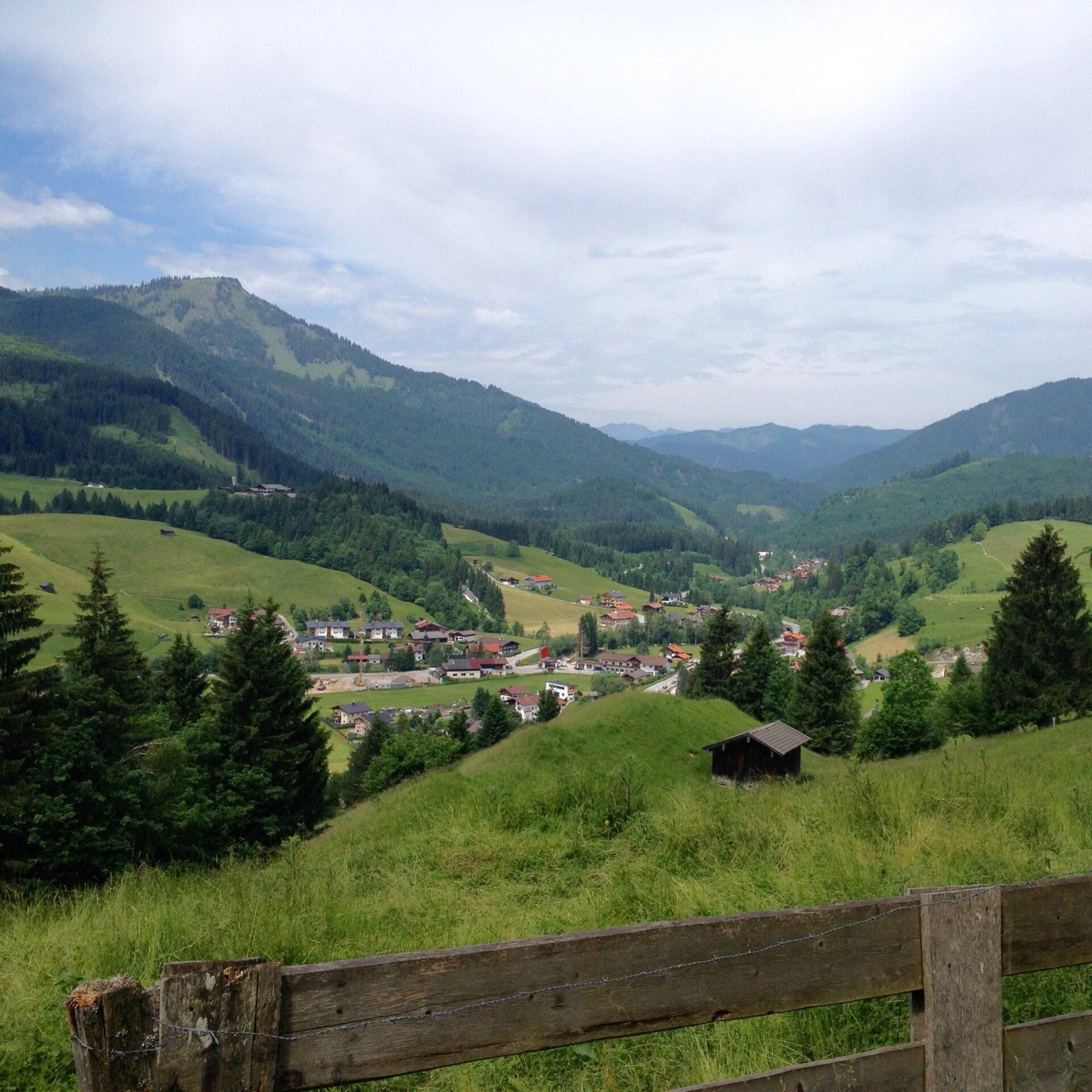 Blick auf Achenkirch