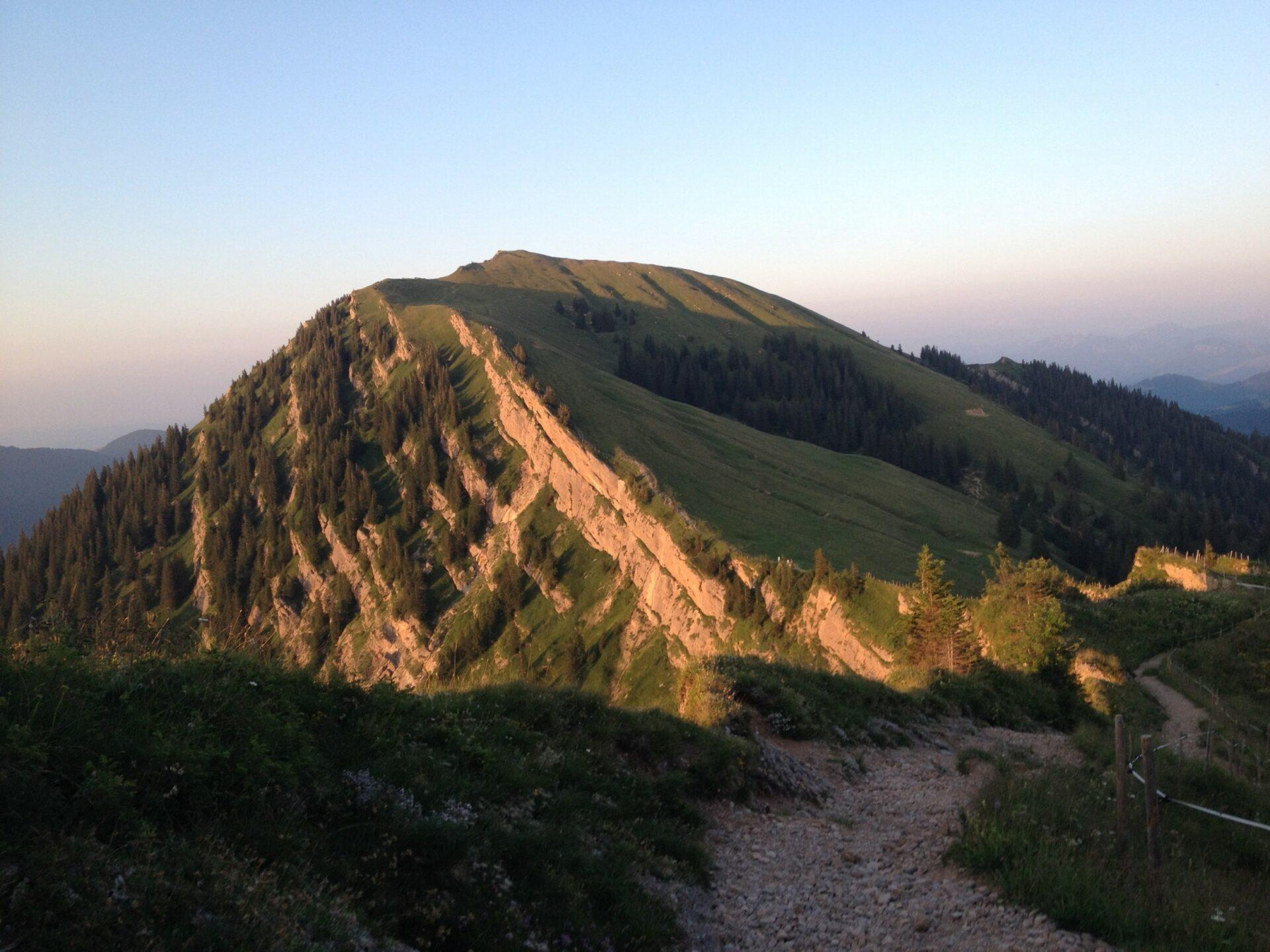 Blick zurück zum Rindalphorn