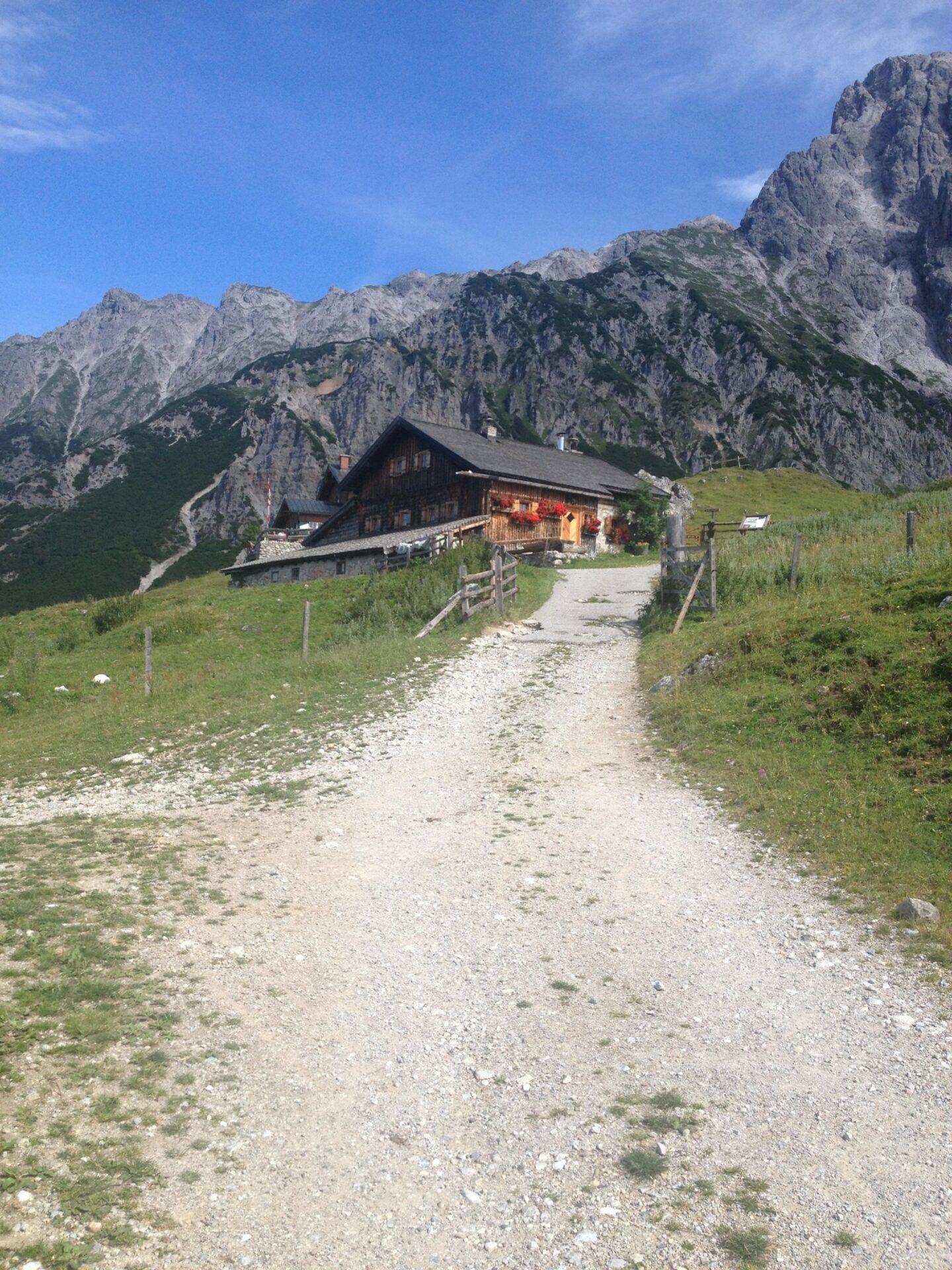 Kurz vor der Erichhütte