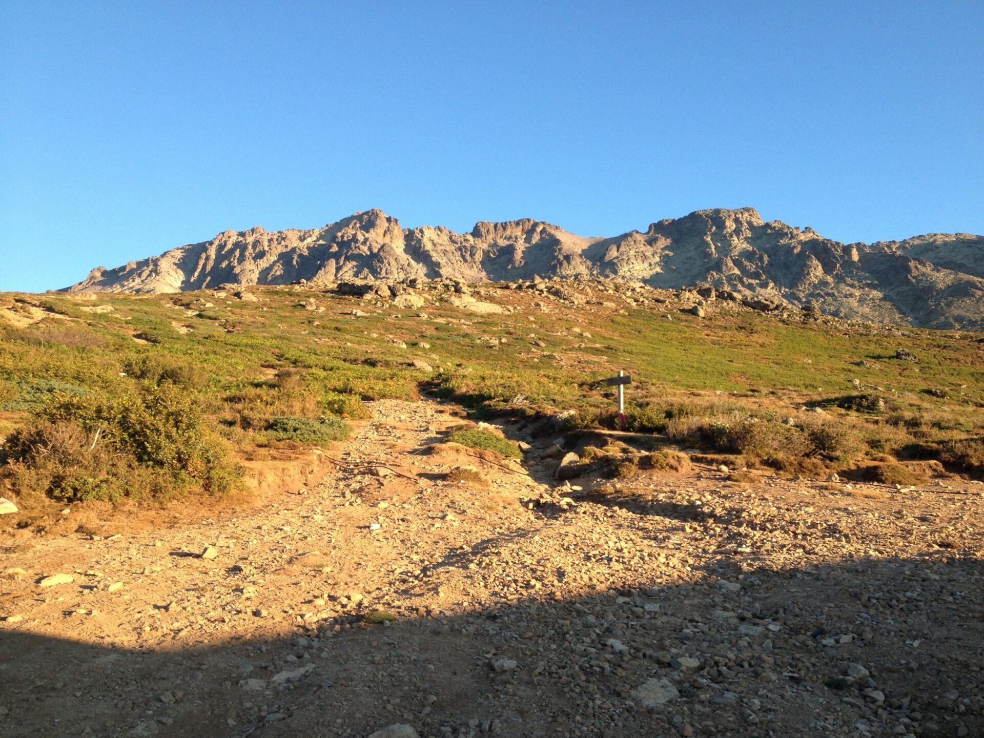 Letzter Aufstieg vor der Ercu-Hütte
