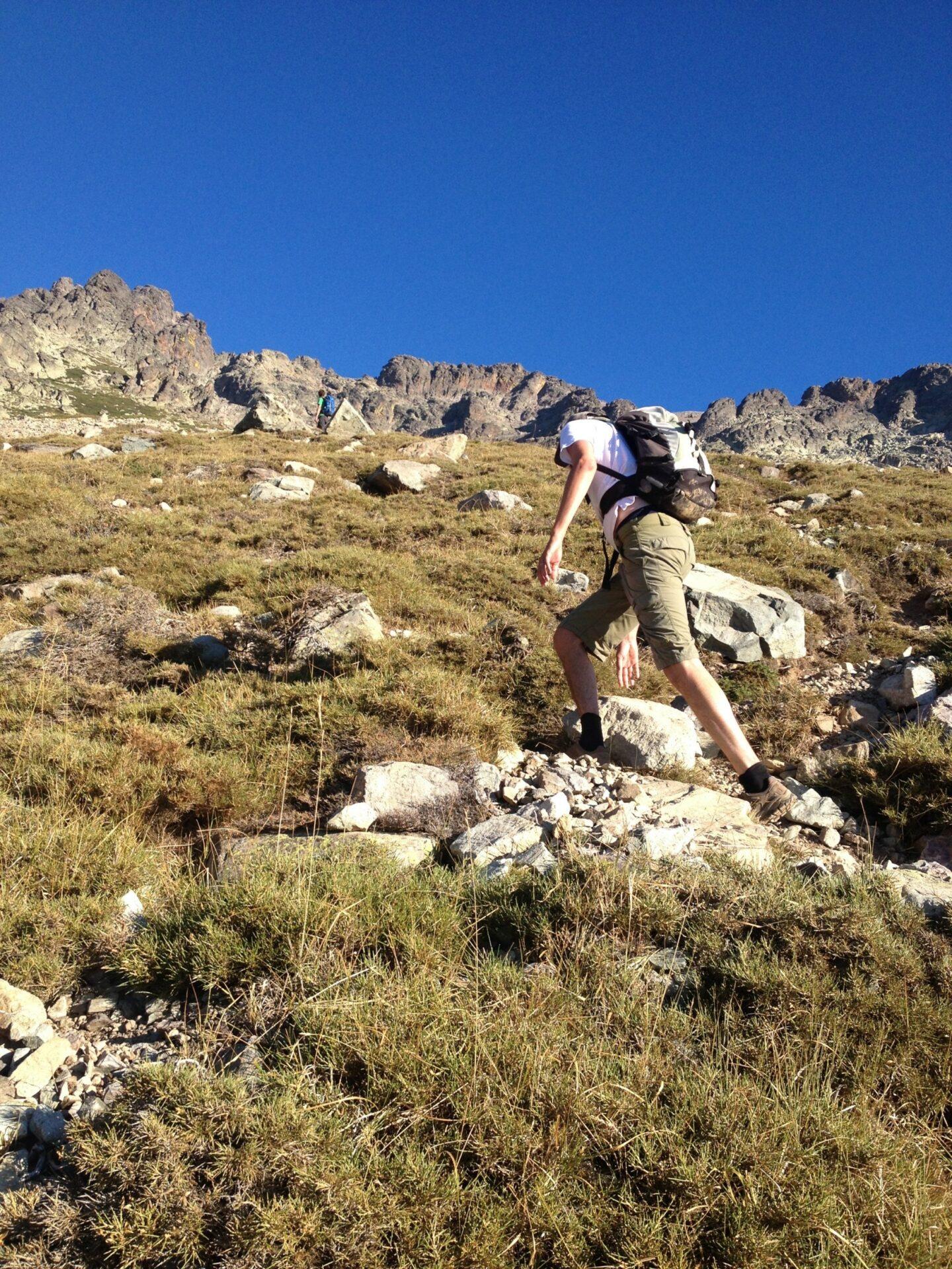 Beim Aufstieg auf knapp 2000 Meter