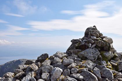 16 Am Gipfel Garbh Bheinn