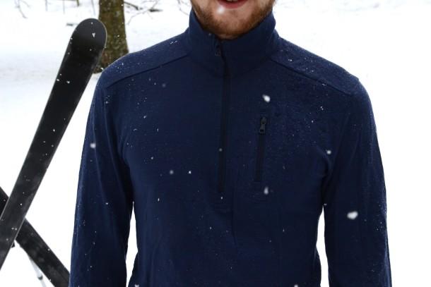 Kaipara Zip Merino Shirt