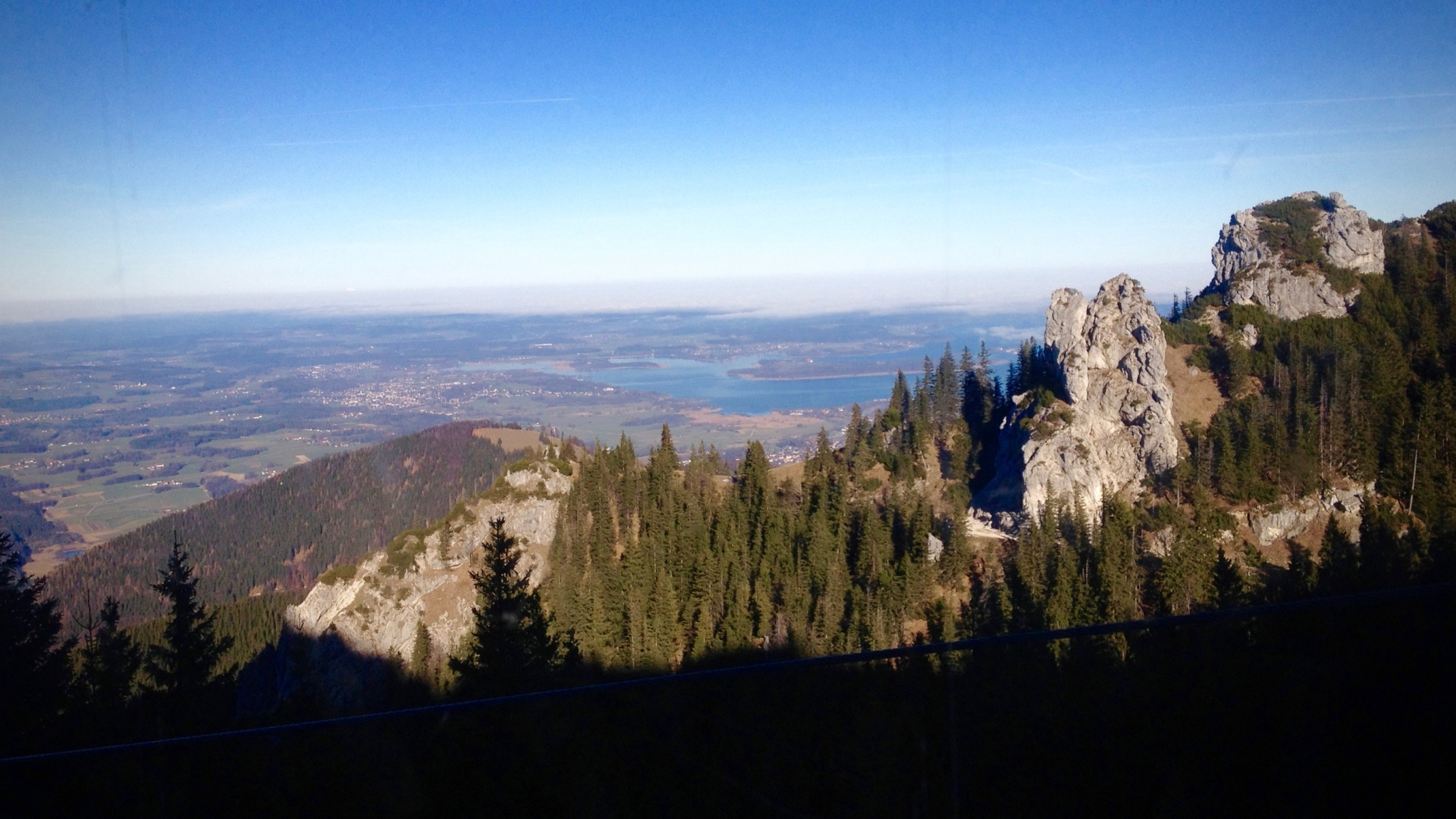 Blick in Richtung Chiemsee