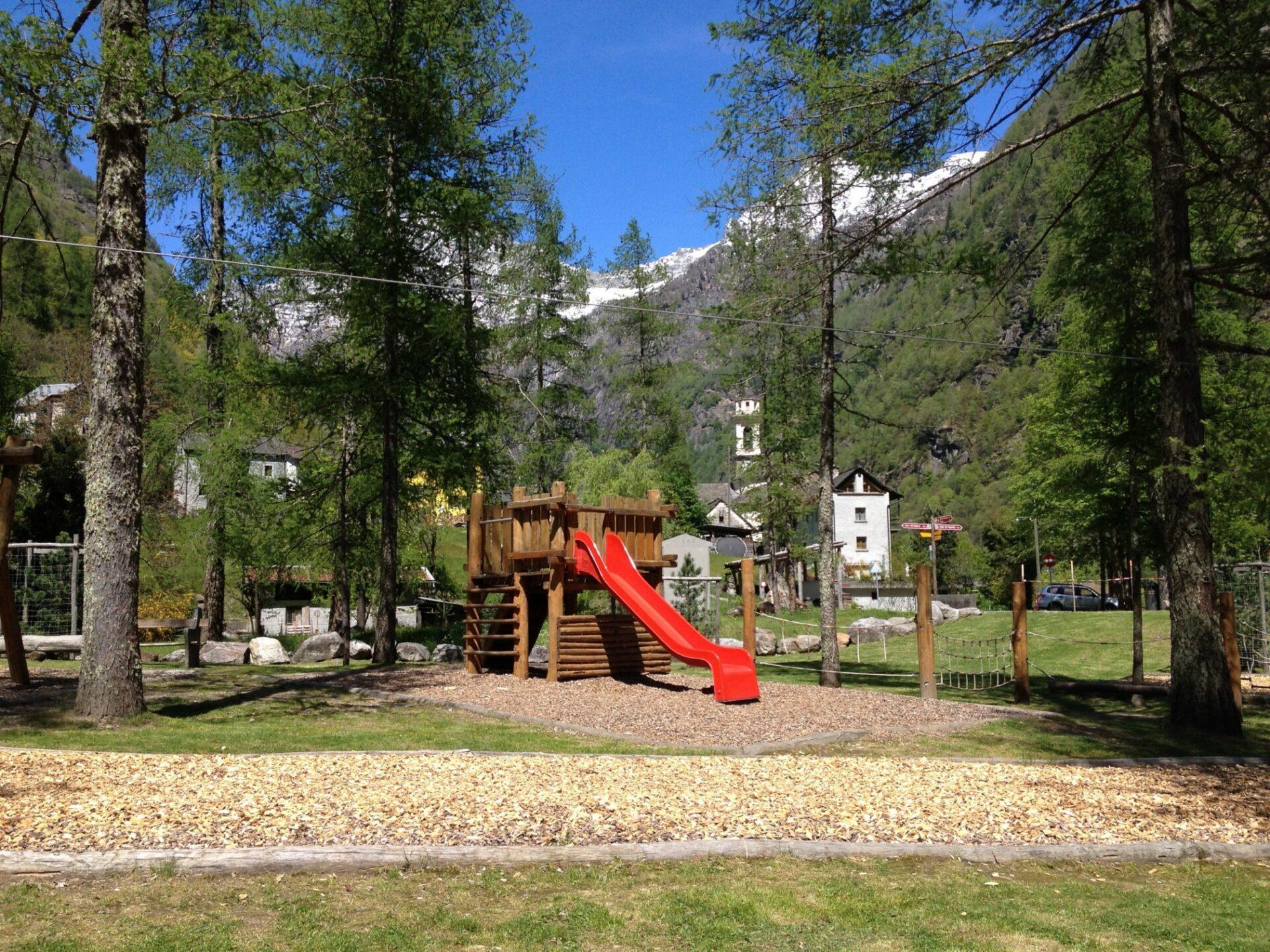 Spielplatz in Sonogno
