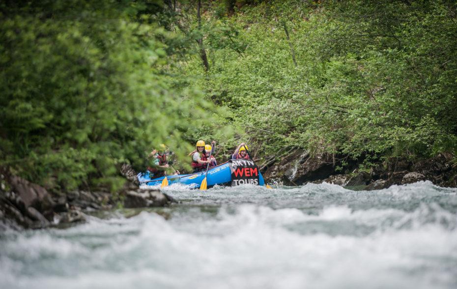 Rafting im Ahrntal Bild: ©wisthaler.com_rafting