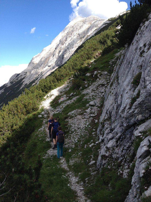 700 Höhenmeter Aufstieg zur Niederen Munde