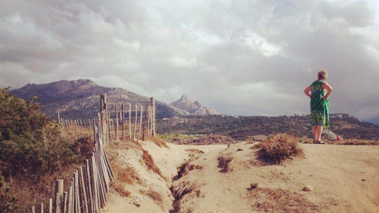Der GR20 auf Korsika überquert von der Nordküste aus die Insel