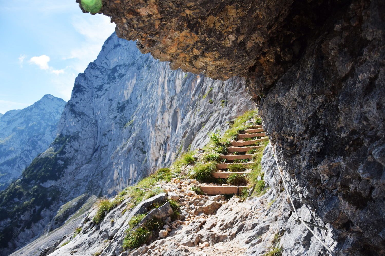 Treppeneinstieg