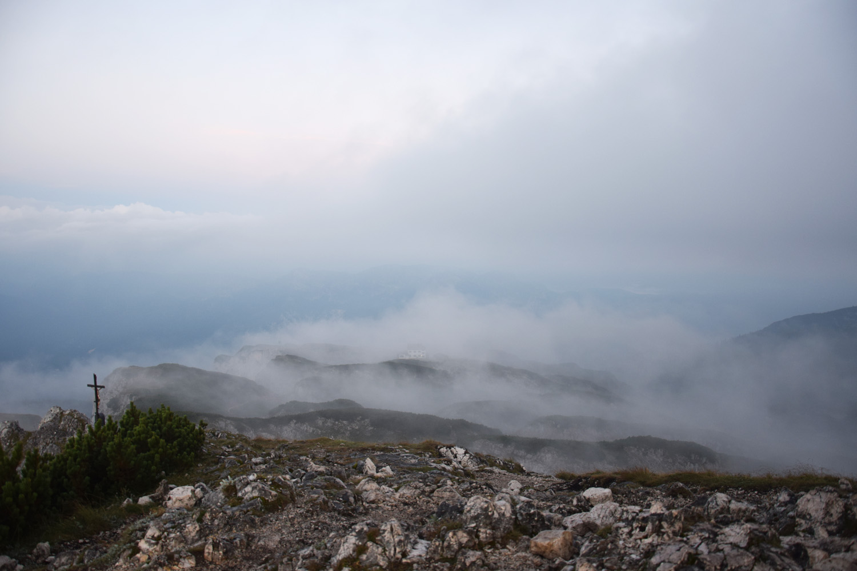 Nebelspiel am Morgen