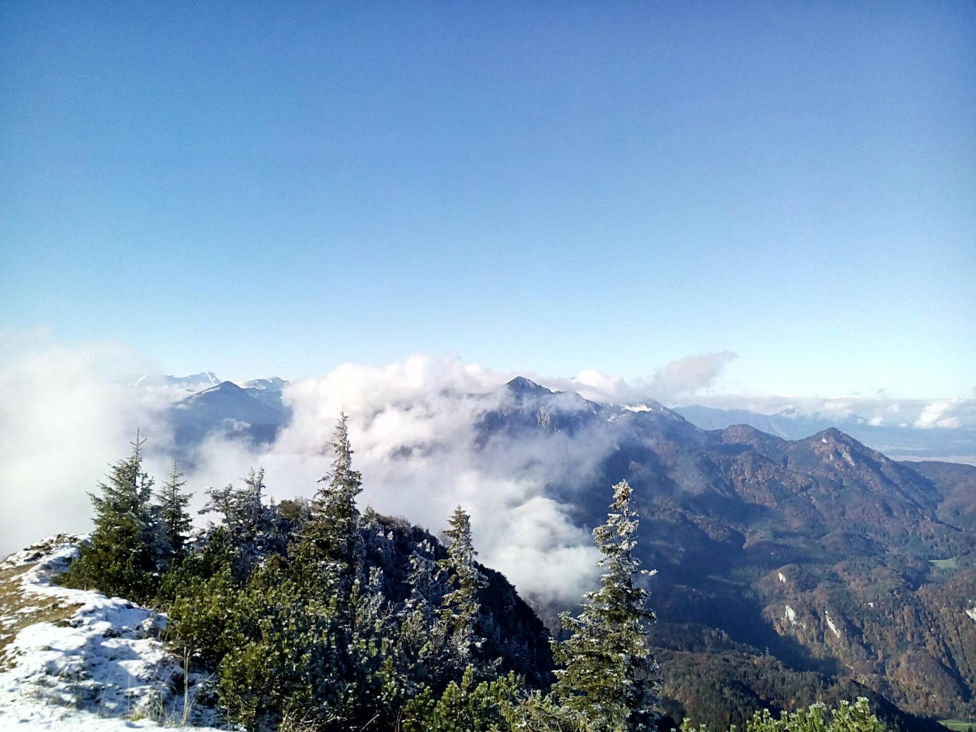 Am Jochberg-Gipfel