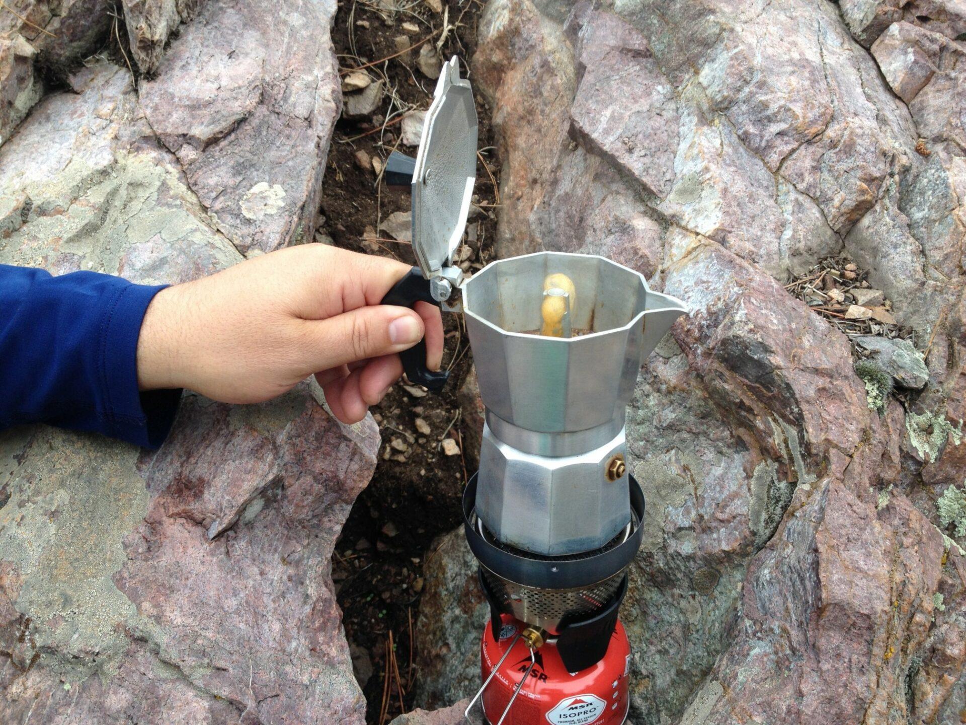 Sprudelnder Kaffee