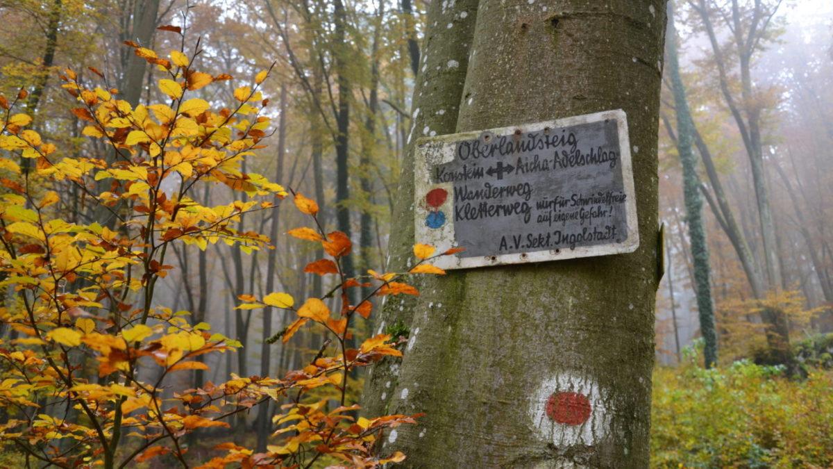 Oberlandsteig - Rot