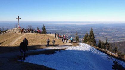 Winterwandern im Chiemgau: Kampenwand