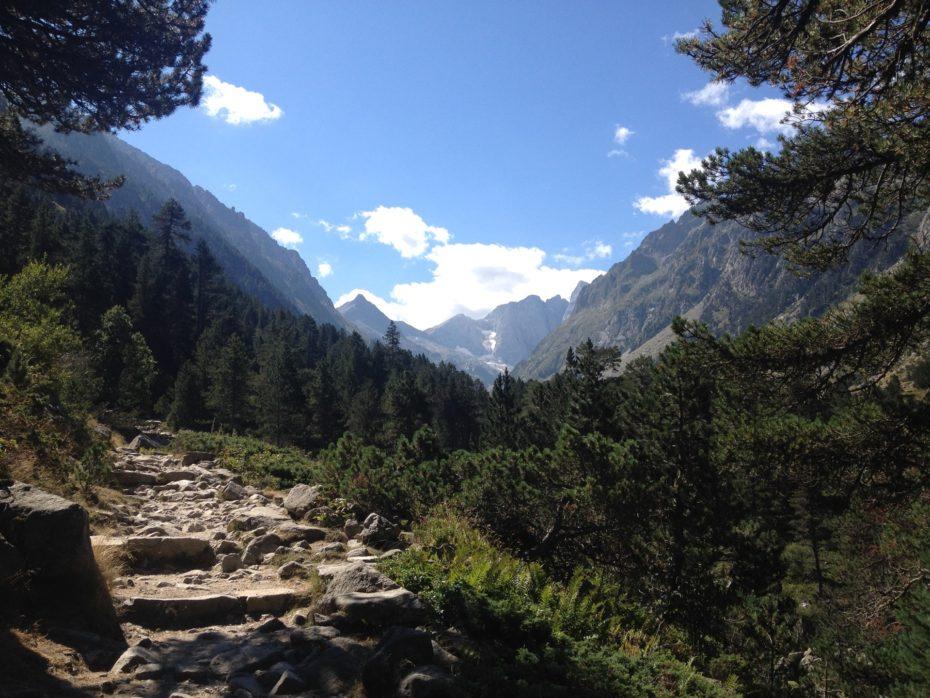 Pyrenäen: Aufstieg zum Lac de Gaube