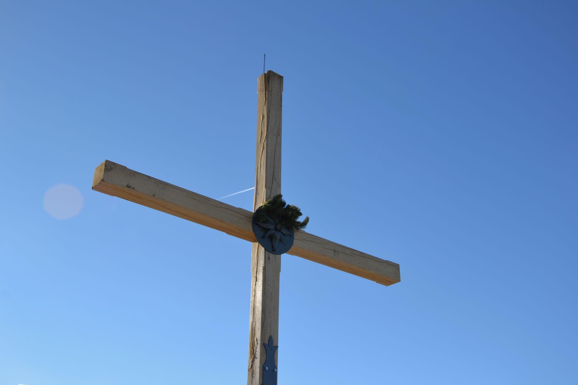 Das umstrittene Gipfelkreuz