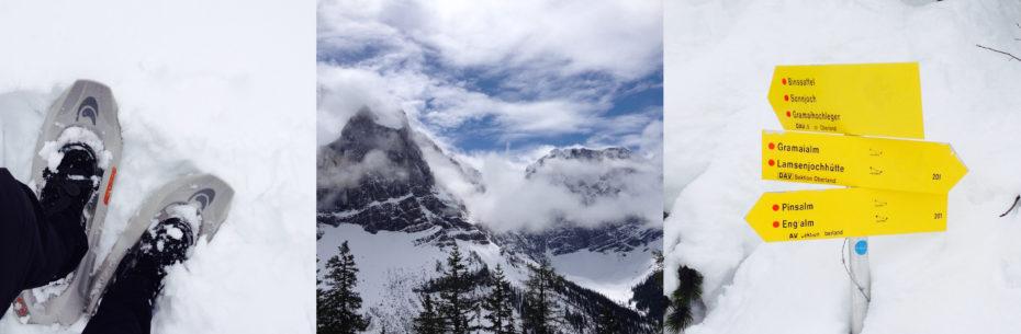 Auch Anfang Mai noch gut möglich: Touren im Karwendel in Richtung Plumsjochhütte oder Tölzer Hütte