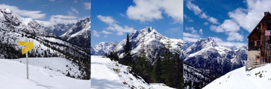 Besondere Ausblicke ins Karwendel