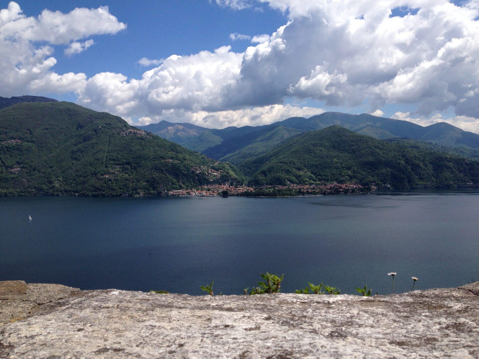 Ausblick auf Maccagno