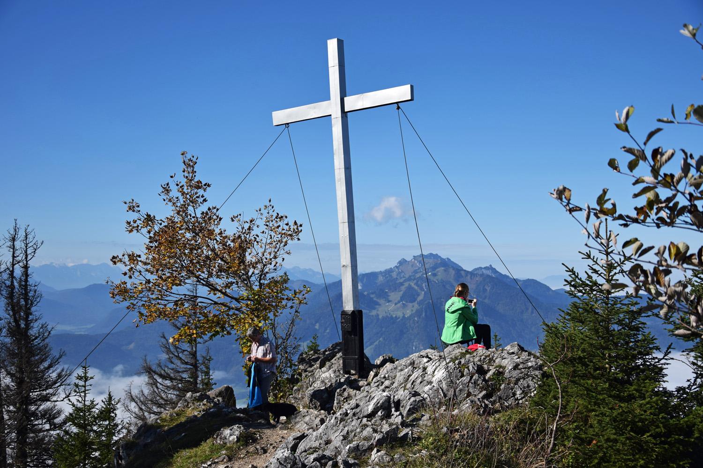 Gipfelkreuz am Geierstein