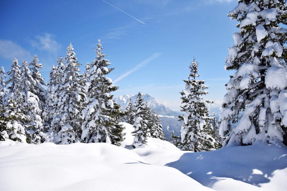 Pendling: unberuehrte Winterlandschaft