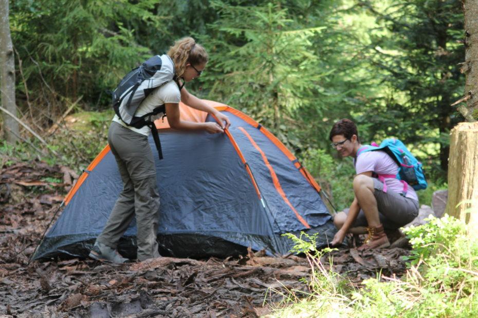 Trekking und Biwak im Schwarzwald: Bild: Naturpark Schwarzwald