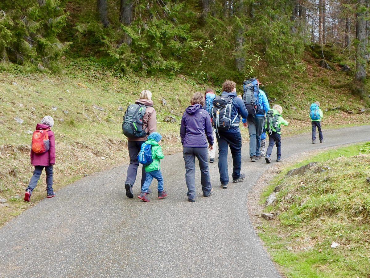 Vom Spitzingsee über den Schwarzenkopfweg zur Schoenfeldhuette