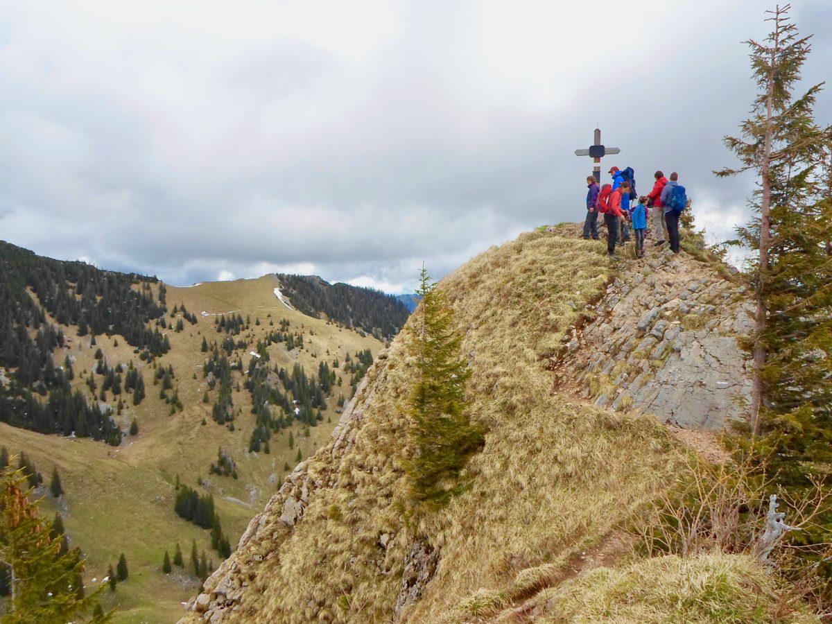 Der Gipfel des Rauhkopf