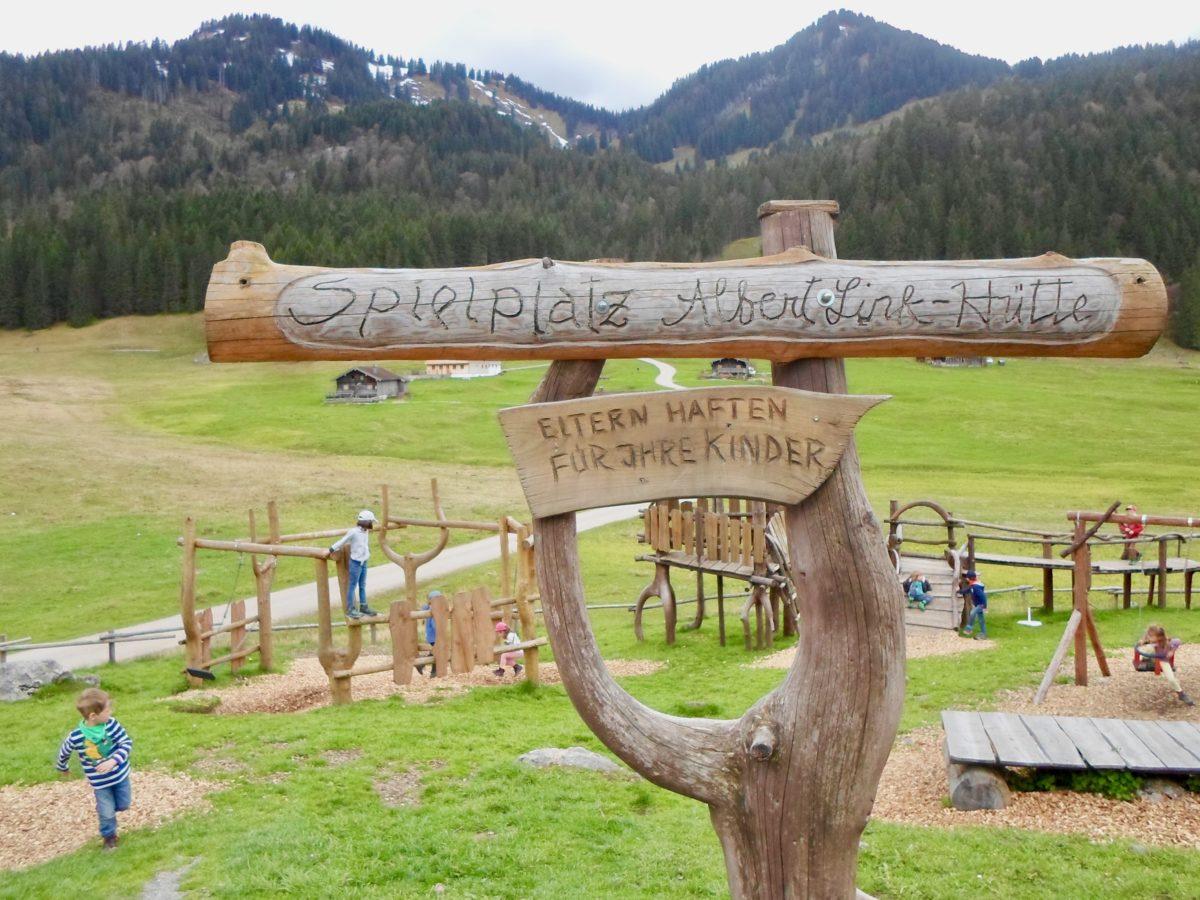 Ausklang an der Albert-Link-Hütte