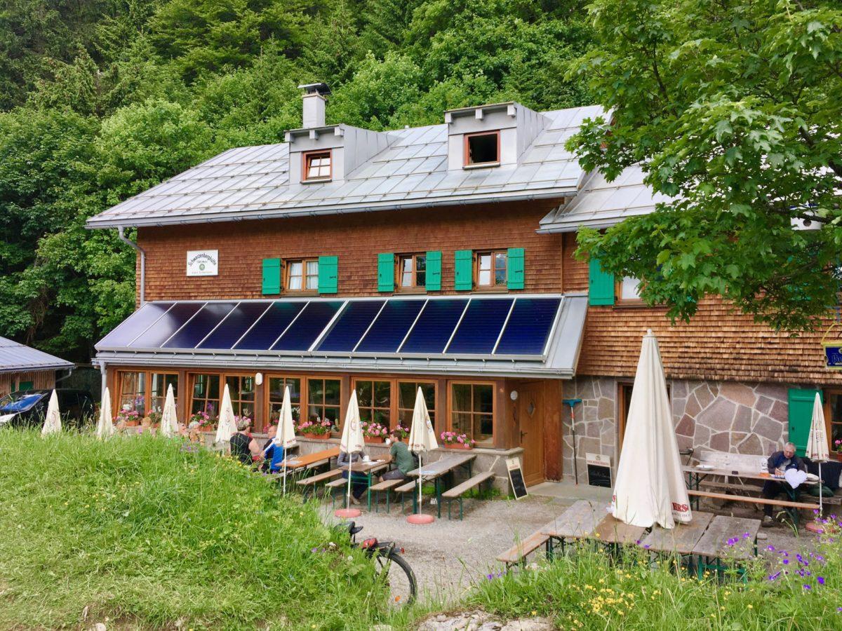 Die Schwarzenberghütte der DAV Sektion Illertissen