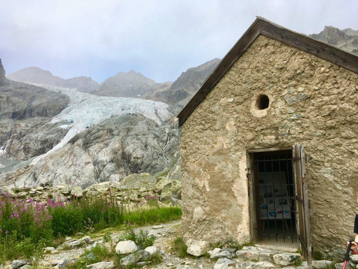 Die alte Hütte - Heute nur noch als kleines Museum geöffnert