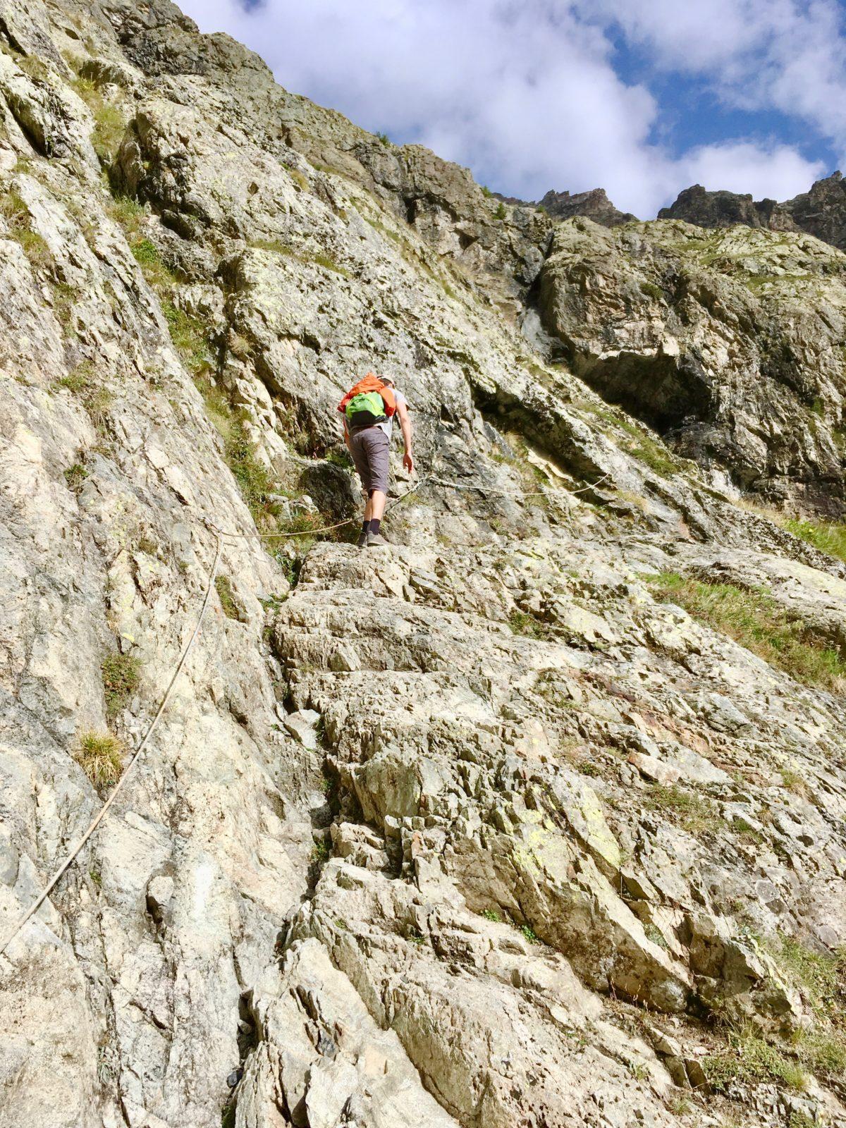 Aufstieg von Ailefroide zum Refuge du Sélé