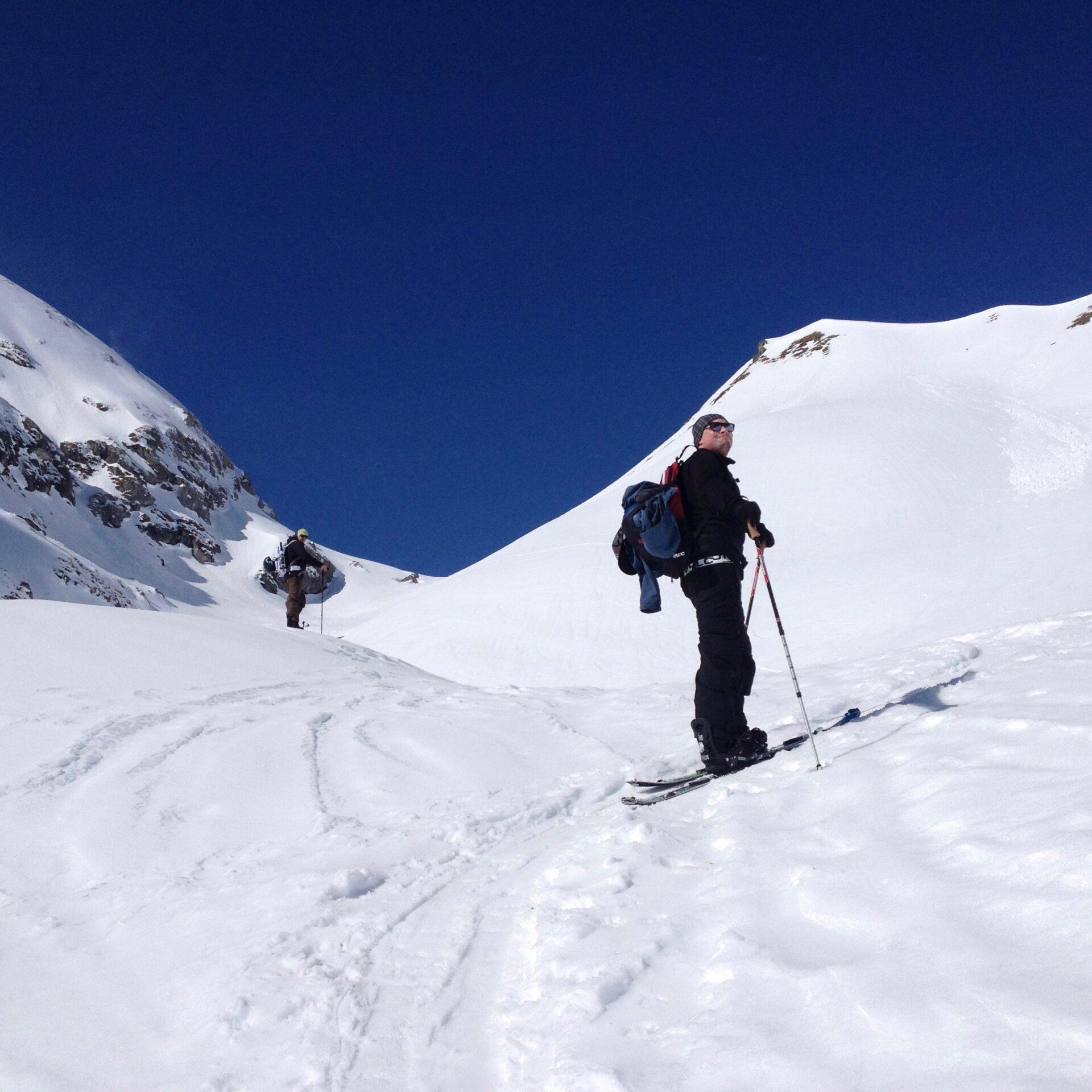 Skitouren um die Lindauer Hütte