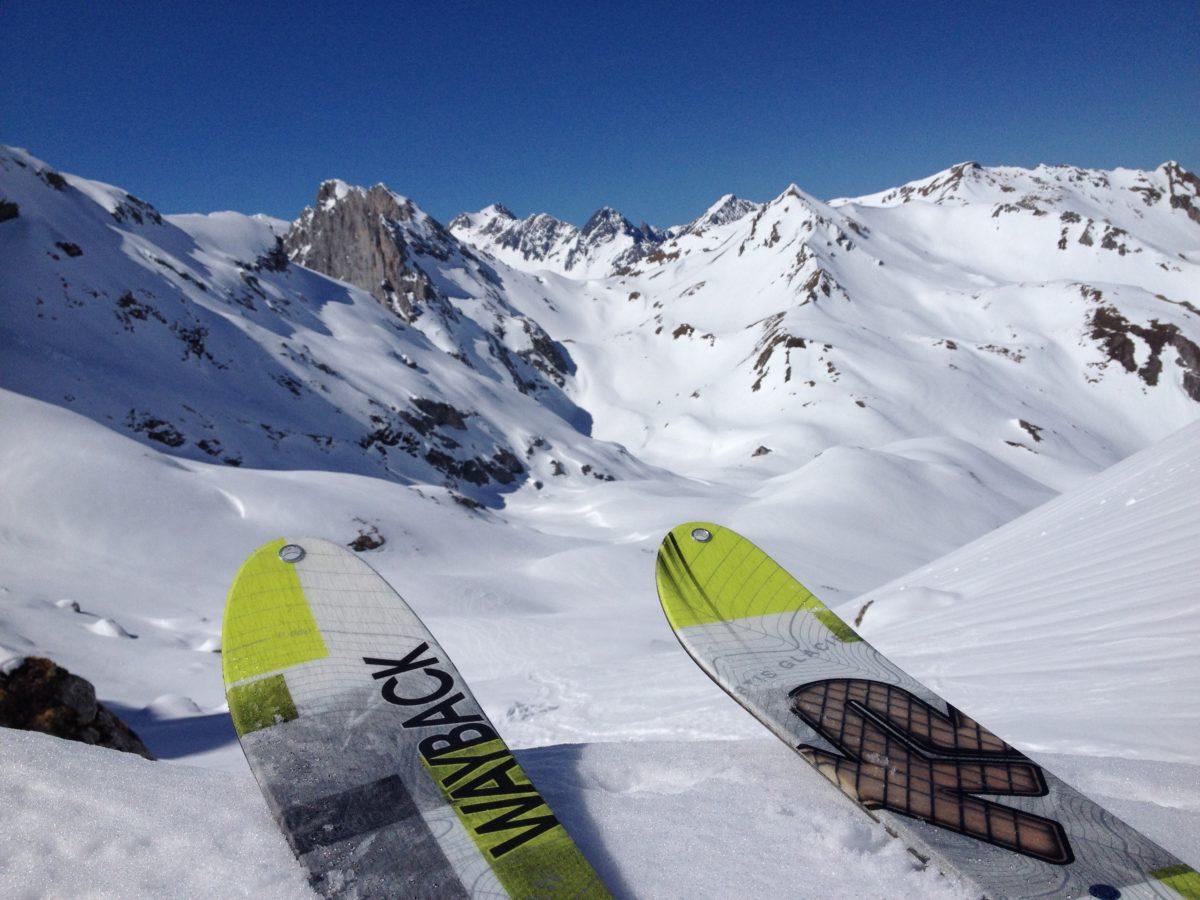 Skitouren um die Lindauer Hütte: Ausblick am Öfapass