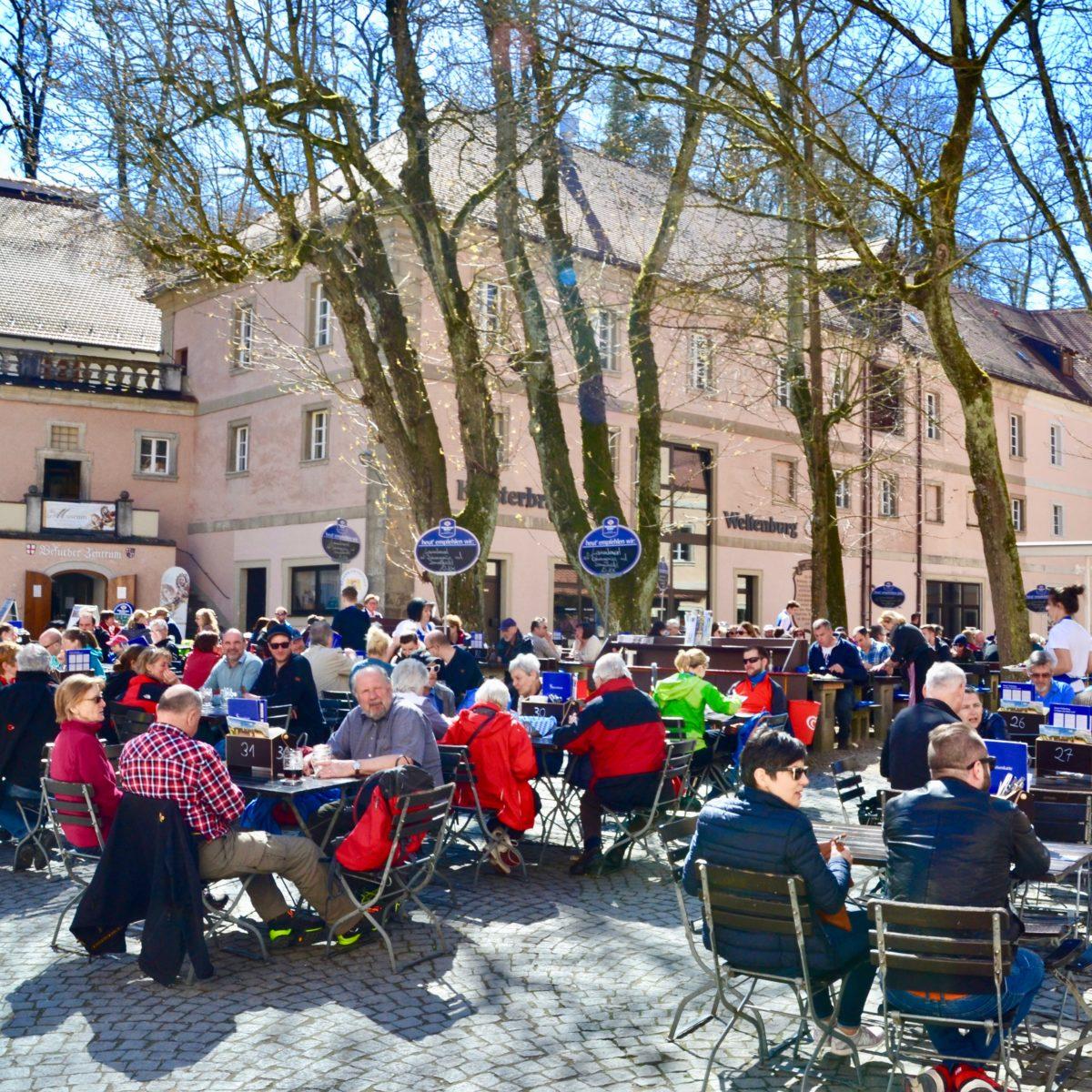 Biergarten im Klosterhof