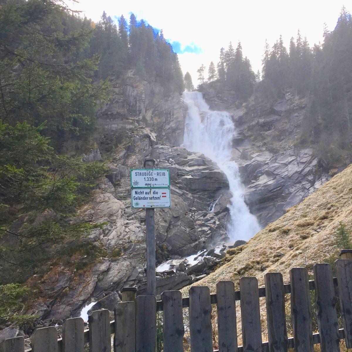 Die Krimmer Wasserfälle