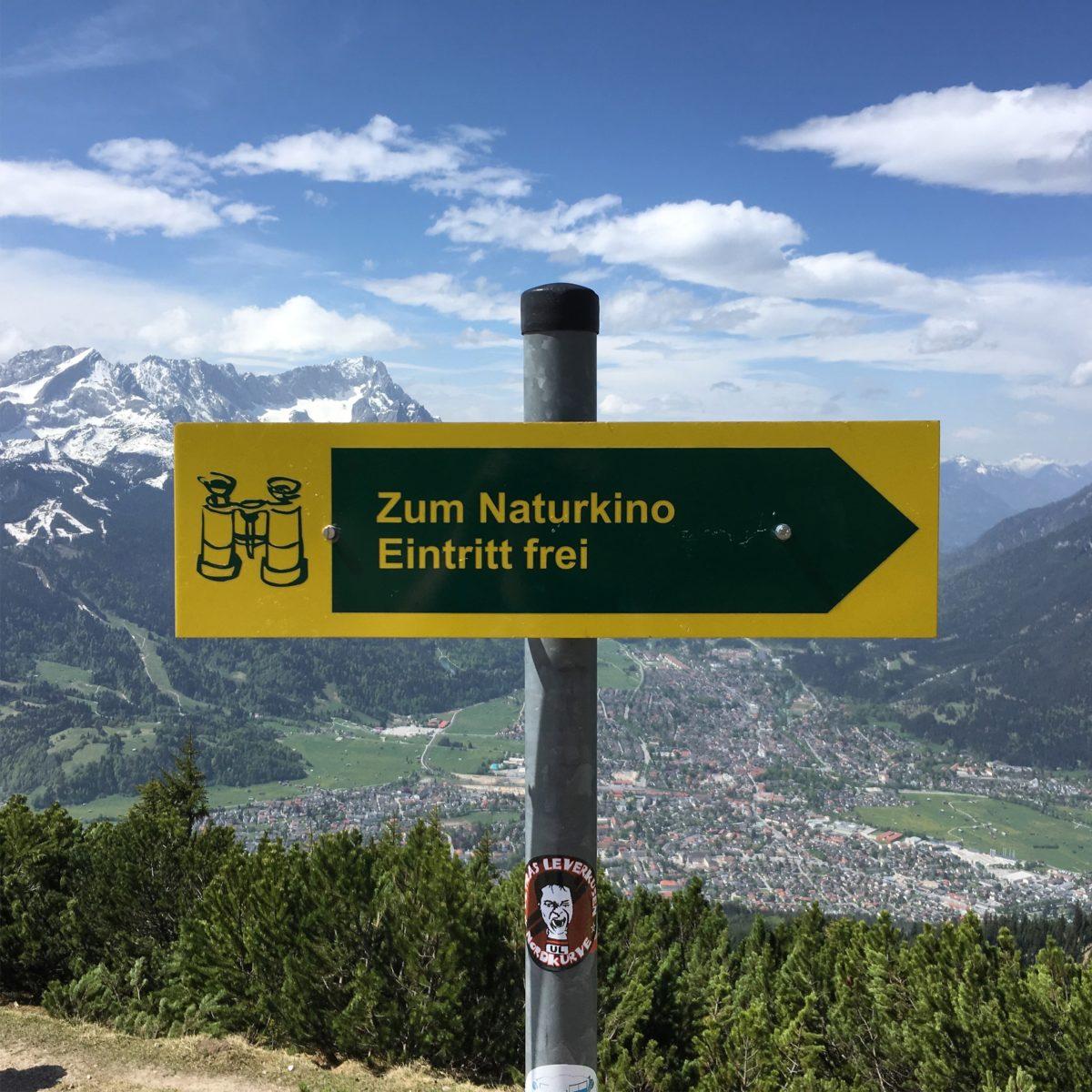 Naturkino am Wank - Eintritt frei!