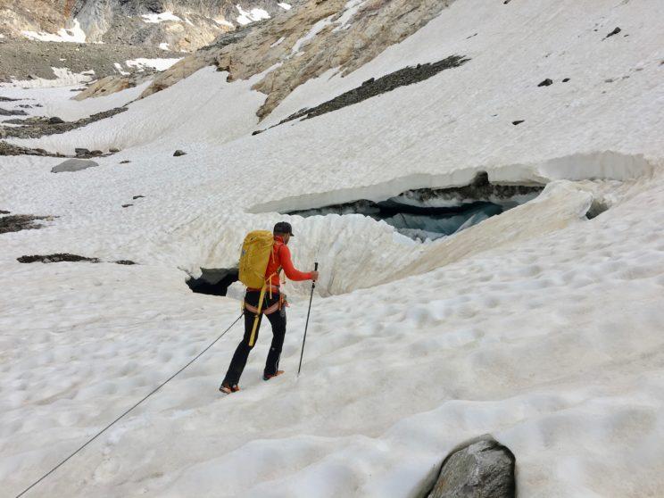Auf dem Weg zum Gletschermaul