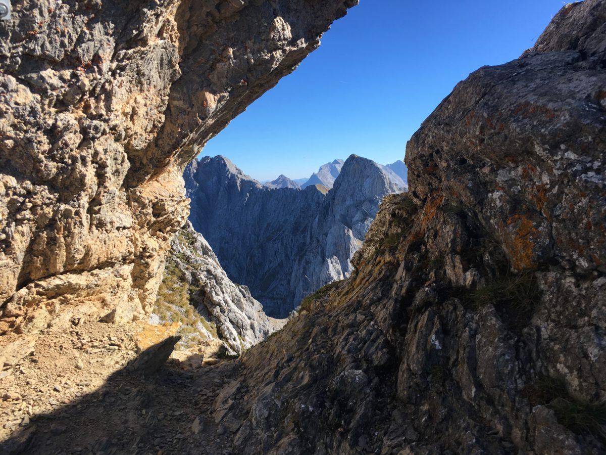 Ausblick ins Karwendel